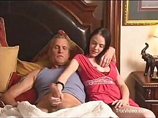 Daughter walks in on her Dad watching porn | daddy daughter family taboo